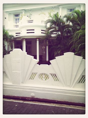Absolutely love the Art Deco fence Sri Lanka Southasia