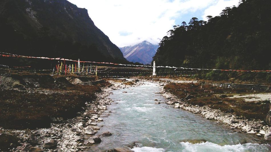 Exploring New Ground Memories ❤ Sikkim Yumthang Valley Lachung Valley Teesta River Mountains Clouds Landscapes With WhiteWall