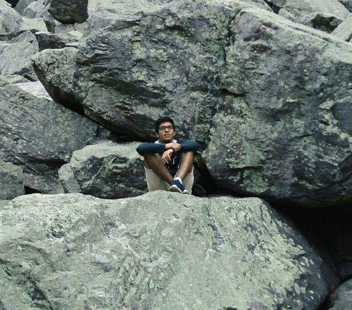 Devils Lake Wi Boulder Boulders Bouldering Squat Nature Serene Serene Outdoors