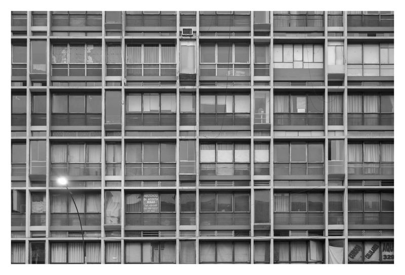 #Lima #Windows #blackandwhite #building #naturallight #nopeople #outdoor #pattern