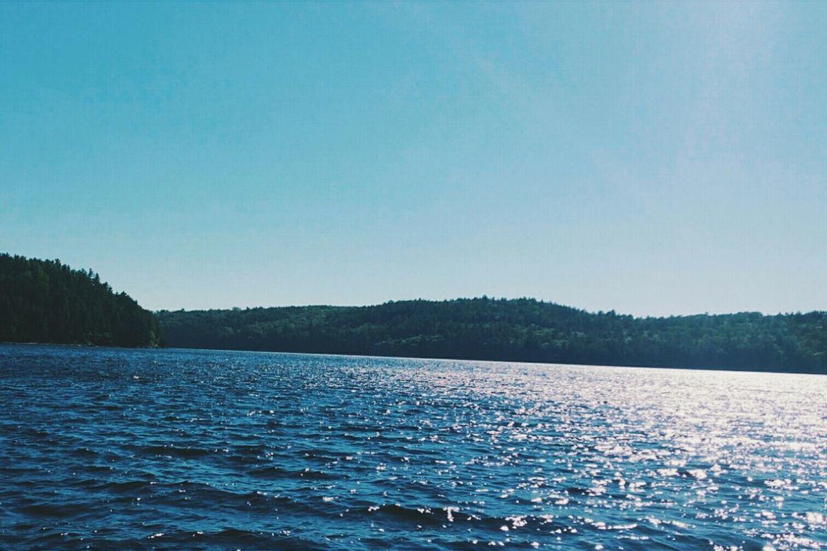 Blue. Summer Boating Pembroke Ontario Blue Throwback Samsung Galaxy Note 4