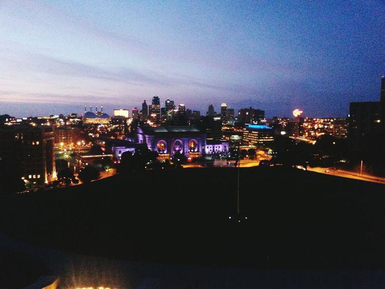 Kansas City Unionstation Niteshots Missouri Sunset Taking Photos Check This Out Nite Lights My City Is Beautiful