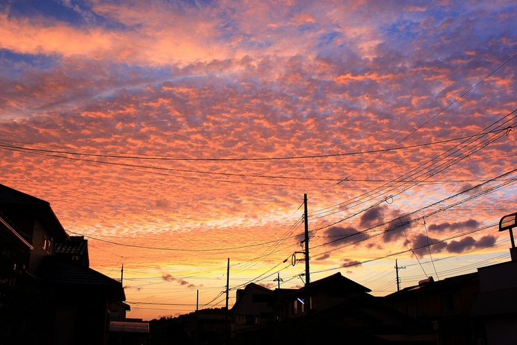 Sunset Sky Cloud - Sky Dramatic Sky Outdoors Beauty In Nature No People Nature Cityscape Nature