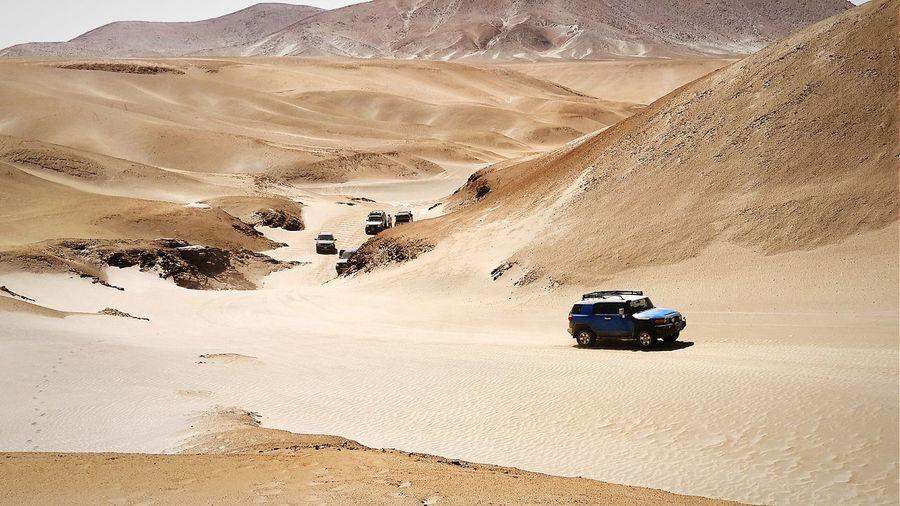 Off Road Vehicle In Desert