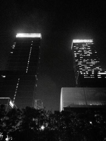 Black And White Black & White Skyline Architecture Nightphotography Night