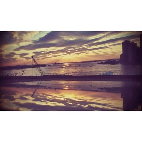 Reflection Sunset OutsideBedroomWindow