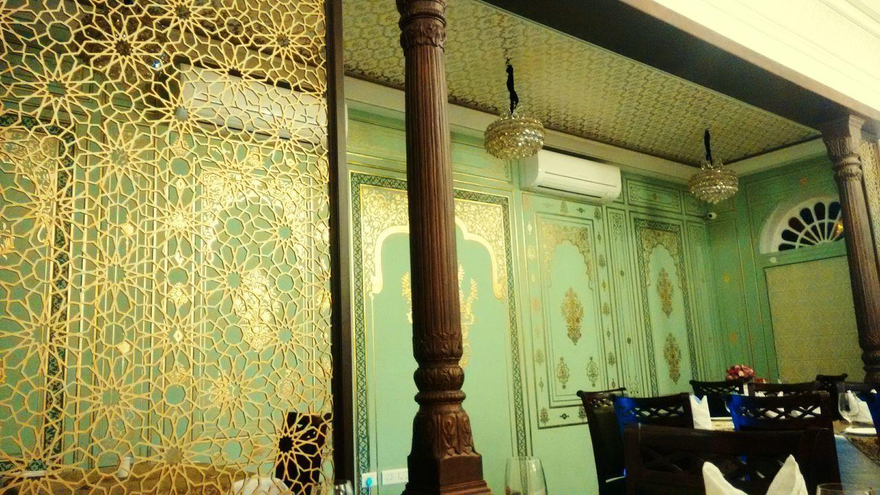 Interior Of Old-Fashioned Restaurant