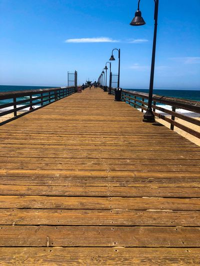 A short walk The Way Forward Direction Sky Water Sea Beach Diminishing Perspective Scenics - Nature Pier Tranquil Scene Beauty In Nature Railing Outdoors Footpath Day Horizon Over Water Horizon