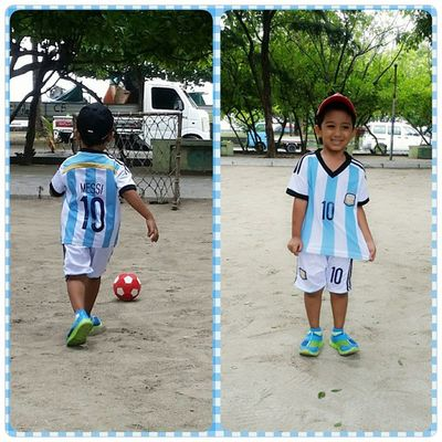 little messi Rayn10 Football Messi10 Argentina friday fun