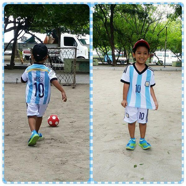 little messi Rayn10 Football Messi10 Argentina friday fun
