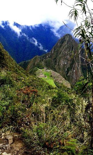 Temple Machupicho Peru.