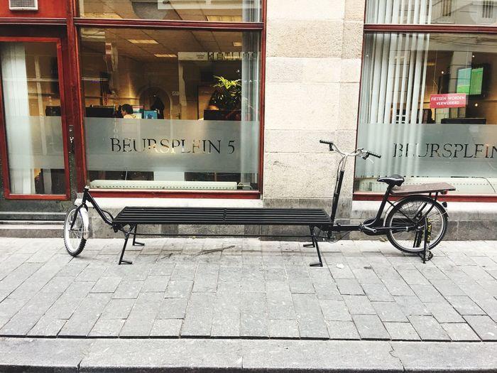 Endlich auch mal so ein hippes Lastenrad posten. Carrier Bike Freightbike Hippebaerte Verpackungsfreiebiolaeden