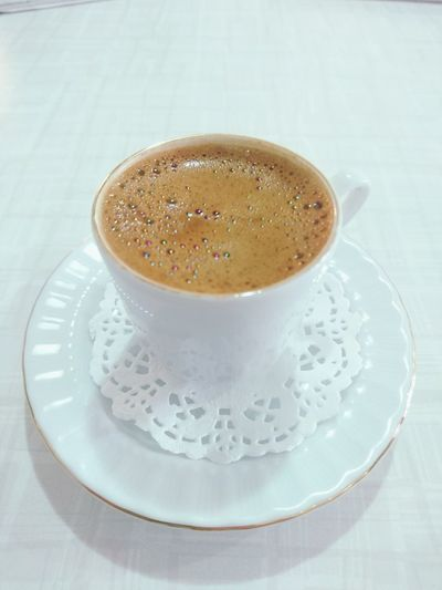 Right Now Love Bestshot Relaxing Coffee Coffee Time Türkkahvesi MIS Bolkopuklu Coffee ☕ Drink White White Color Günaydın Good Morning No People Coffee Cup Indoors  Relax Relax Time