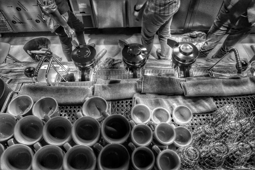 a cup keeper Low Section Cups And Mugs pantry Indonesia_allshots INDONESIA indonesia_photography Indoors  Abundance Circle Geometric Shape Blackandwhite Photography Blackandwhite monochrome