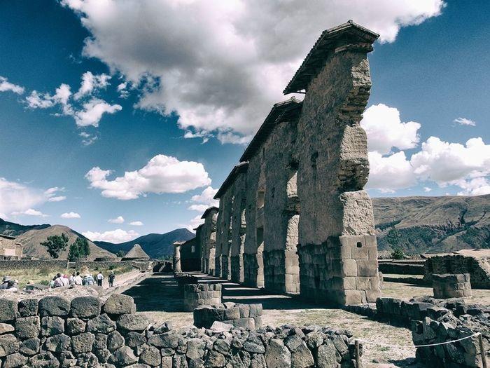 Mayan Architecture in the sacred valley Peru History Old Ruin Travel Destinations Ancient Civilization Mayan Ruins Peru