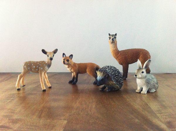 The Gang Fox Set Learning Show Cute Zoo Rabbit Hedgehog Alpaca Bambi Toy EyeEm Selects Indoors  Animal Themes No People Mammal Childhood Full Length Nature