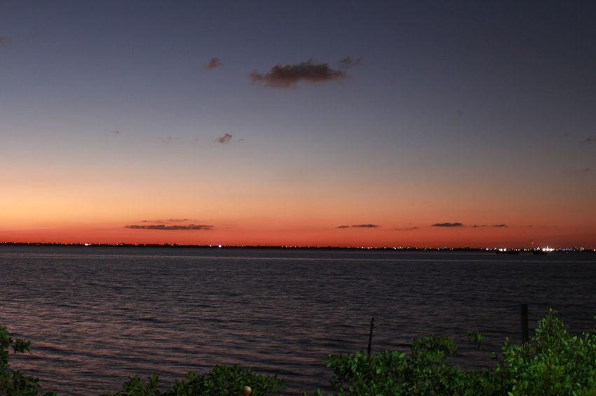 Atardecer de octubre 2017 Cancun, Mexico Dreaming October Sweet October! RedSky Romantic Sunset_collection Incredible Lagoon