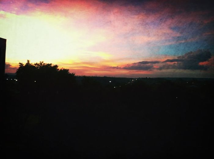 Beautiful Sunset From My Window Today