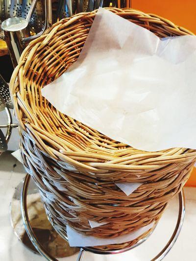paper baskets EyeEm Selects Close-up Prepared Food Basket Picnic Basket