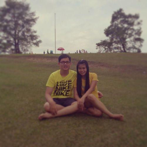 Holiday INDONESIA NorthSumatra Brastagi bukitkubu couple