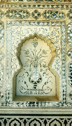 Handwork Sheeshmahal Amerfortjaipur Jaipur Mirrors