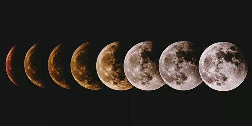 Lunar eclipse Lunar Eclipse Moon Bloodmoon2014 Phases  Space Astrophotography