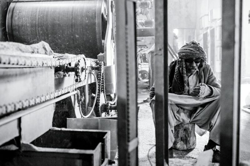 Factory life, Pakistan. Under Pressure Notes From The Underground Monochrome EyeEm Gallery People Black And White Getting Inspired Streetphotography B&W Portrait The Portraitist - 2015 EyeEm Awards