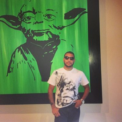 """""""Train yourself to let go of everything you fear to lose."""" -Yoda Blackdeathcrew Starwars"""