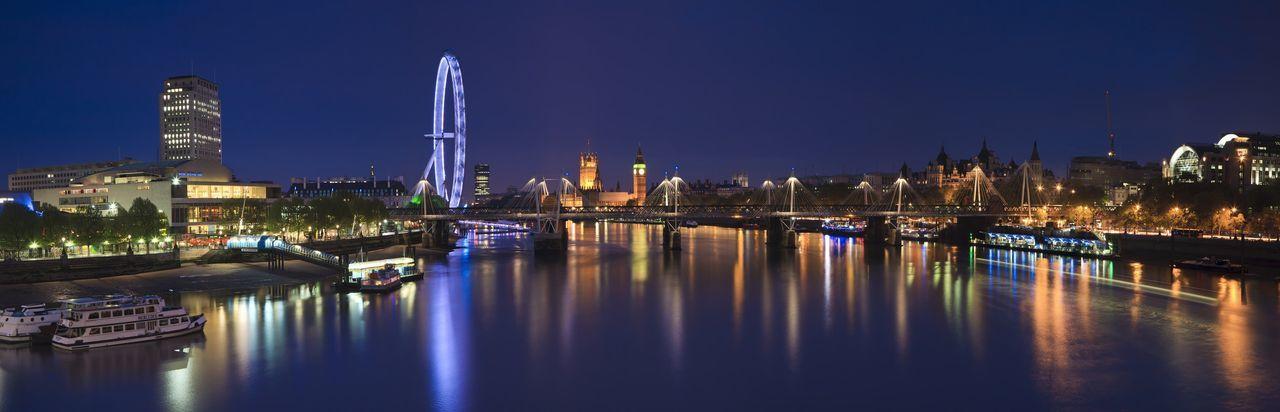 Favorite city Reflection Architecture Night
