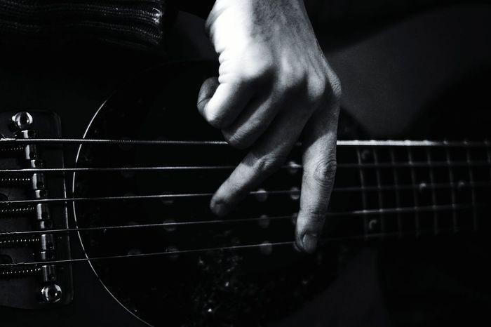 Bass Bass Guitar Bassist Jazz Jazzband Blackandwhitephotography Musical Instruments Blackandwhite Music