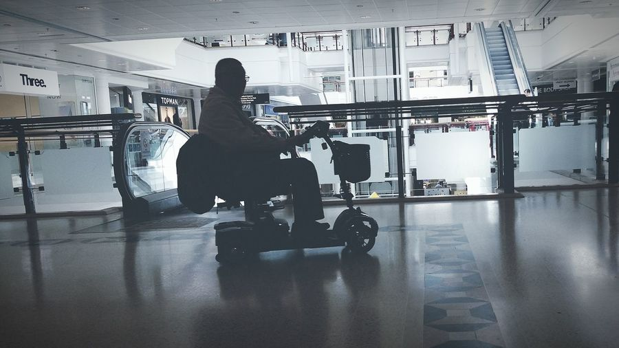 Disability Scooter Shadow