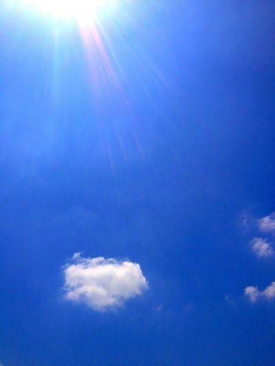 Blue Sky Cloud IPhone 4S