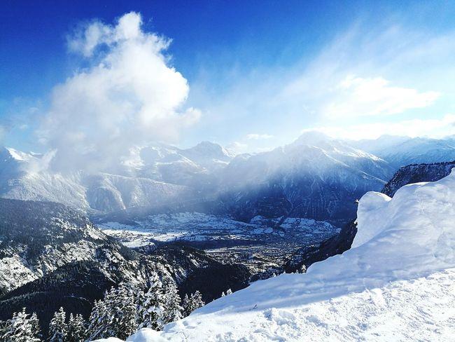 Swiss Alps Swiss Skiing Panorama