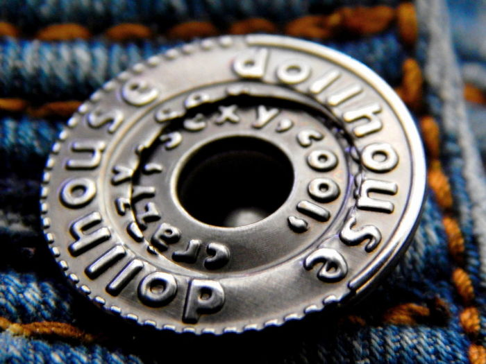 jeans Beauty In Nature Blue Blue Jeans Blue Jes Booking A Room Button Up Close-up Day Dollhouse Fabric Indoors  Jeans Levi Lieblingsteil Metal Micro No People Pants Stitching Technology EyeEmNewHere