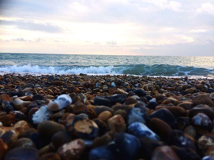 lots of pebbles