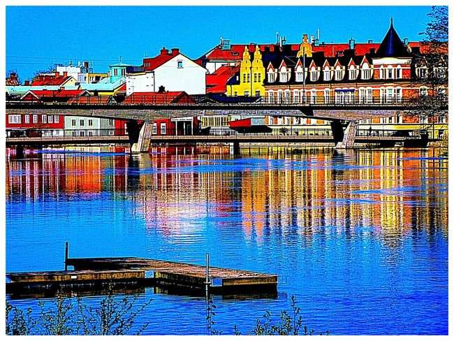 bridage Sweden The True Story Eskilstuna-streetphotography EyeEmNewHere Water Blue Sea Sky Architecture Built Structure Building Exterior Waterfront