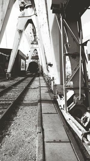 Hamburg Industry Harbour Historic Museum Outdoors Train Railway
