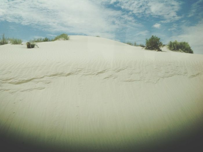 The White Sands in Sante Fe