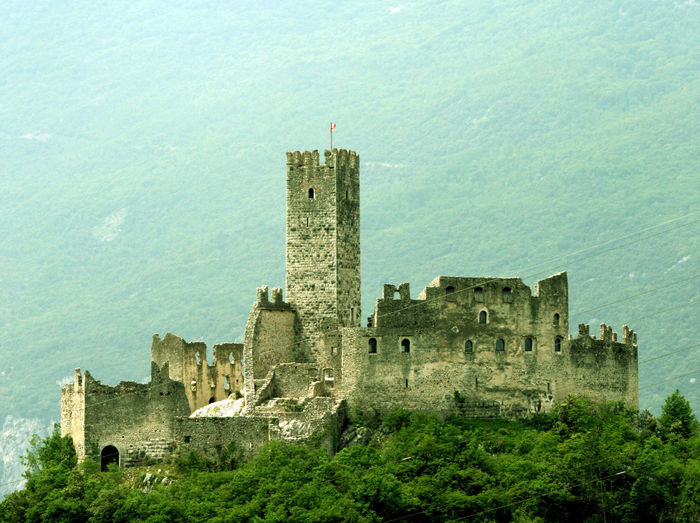 Ancient Ancient Civilization Architecture Building Exterior Built Structure Castelli Castello Castellón Castle City Culture Drenaje Famous Place Fort Historic History House Old Old Ruin Outdoors Ruined The Past Town Trentino  Trentino Alto Adige