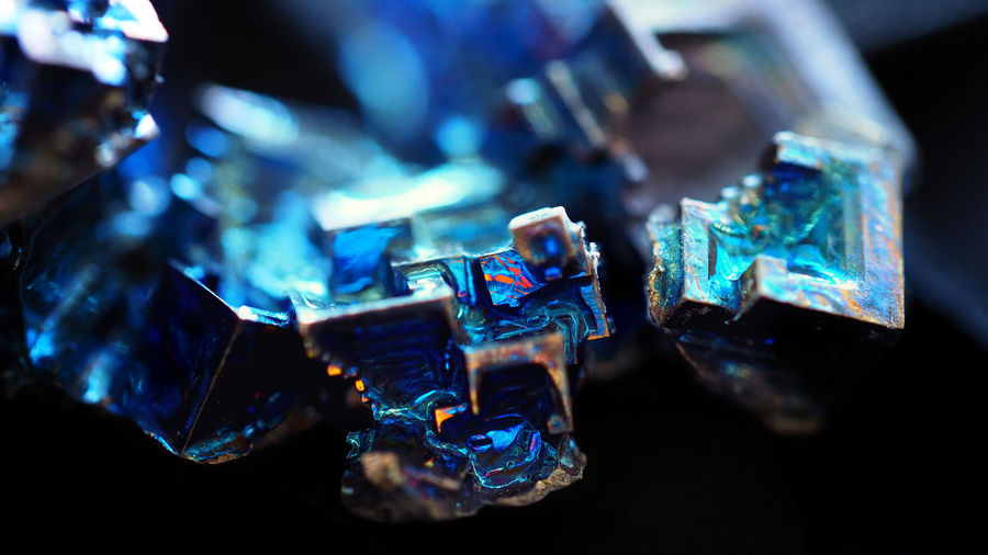 Bismuth Cristal Metallic Metal Structure Surface Texture Textures and Surfaces Blue Cosmic Cubes Cube Shape Abstract Backgrounds Abstract Photography Abstract Backgrounds Macro Macro Photography Macro_collection Multi Colored Object EyeEm Gallery Colorful Block Shape