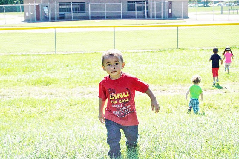 Child Childhood Grass Boys Children Only Outdoors Day Park Enjoyment Innocence Taylor Friendship Bonding