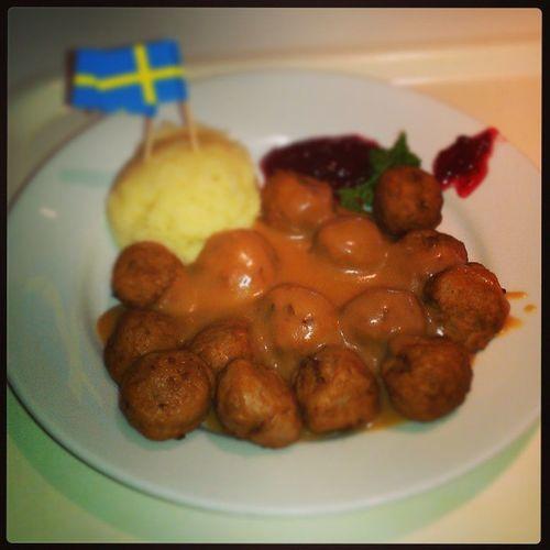 Monday lunch=Meatball IKEA Taichungcity
