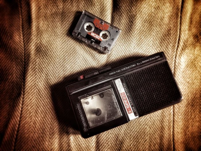 Old is Gold. Photography Mobile Photography Tape Recorder Love For Photography Cassete Player MumbaiDiaries Assam, India Pune Bangladesh Nepal USA London Dubai❤ China Communication Technology Indoors  No People Close-up Device Screen