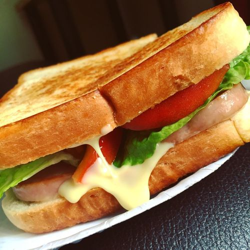 Spam Sandwich 😊 PaperPlateLife Lunch Spam Food