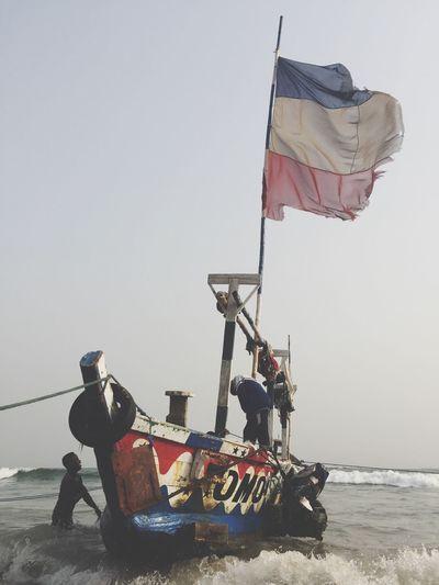 #AtTheBeach Fishing #Ghana
