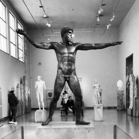 Grecia Greece Sculpture Atene Athens Archeology Museum Poseidon Zeus Classicart schooltrip