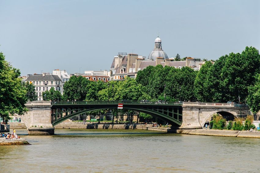 Seine river, Paris France Seine Paris Architecture Built Structure Building Exterior Water Plant Tree River Travel Destinations Bridge - Man Made Structure Bridge City Travel