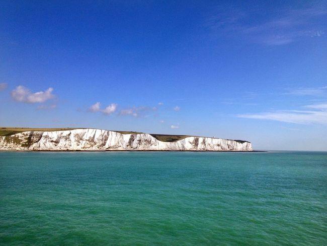 Dover Port Dover White Cliffs Of Dover England Kent Landmark Place Of Interest Tourist Attraction  Landscape Seascape