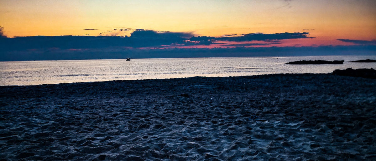 Bird Flamingo Water Sea Sunset Beach Astrology Sign Wave Low Tide Silhouette Seascape Romantic Sky Atmospheric Mood Coastline Ocean Moody Sky