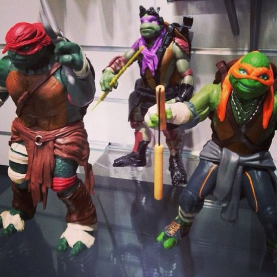 I feel like I'm 5 again! I'm going to buy this bad boys!! Tmnt TurtlePower MasterSplinter Mikey donnie raph leo shredder